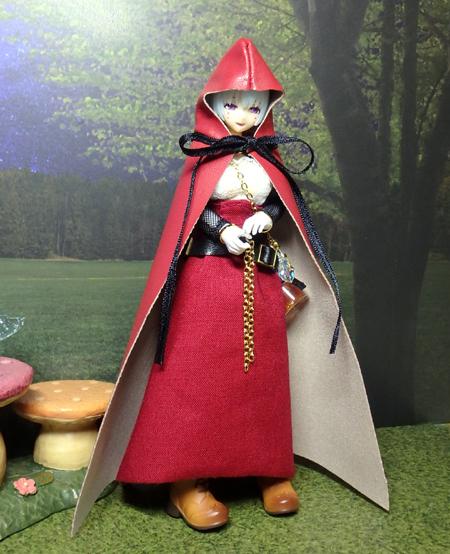 30_10_1 メガミデバイス用・ハロウィンの魔女ドレス 4