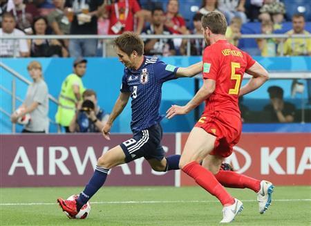 【W杯】日本8強ならず、先制もベルギーに逆転負け…無念の敗退