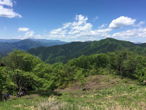生藤山と大菩薩方面