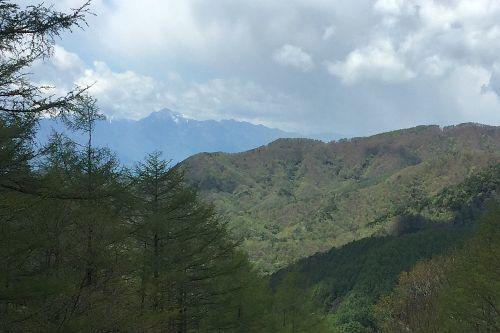 奥秩父の山々