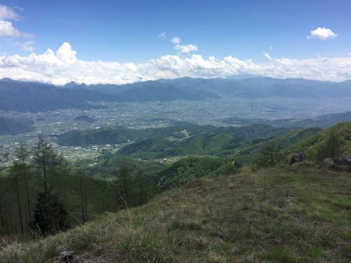 小楢山より富士山方面