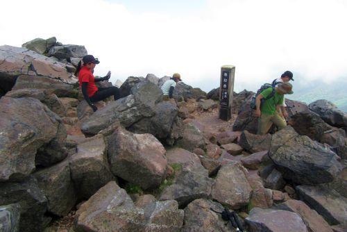 茶臼岳山頂