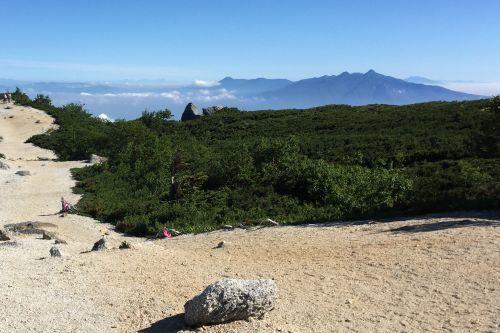 八ヶ岳と浅間山など