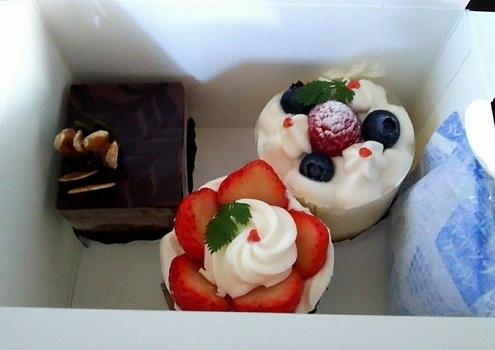 買ったケーキ