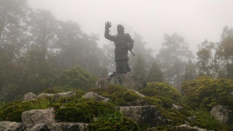 日本武尊の像