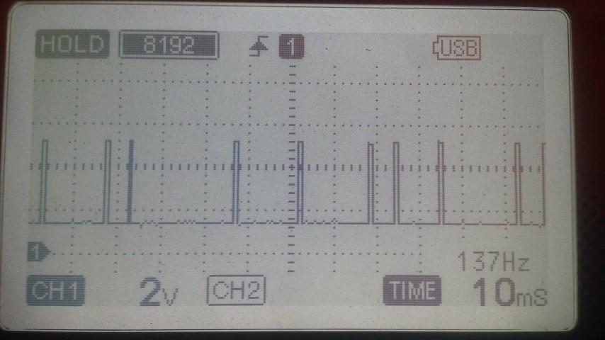 カム角異常信号
