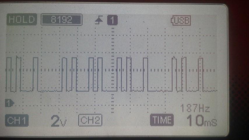 カム角正常信号