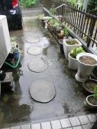 降り続く雨20180708