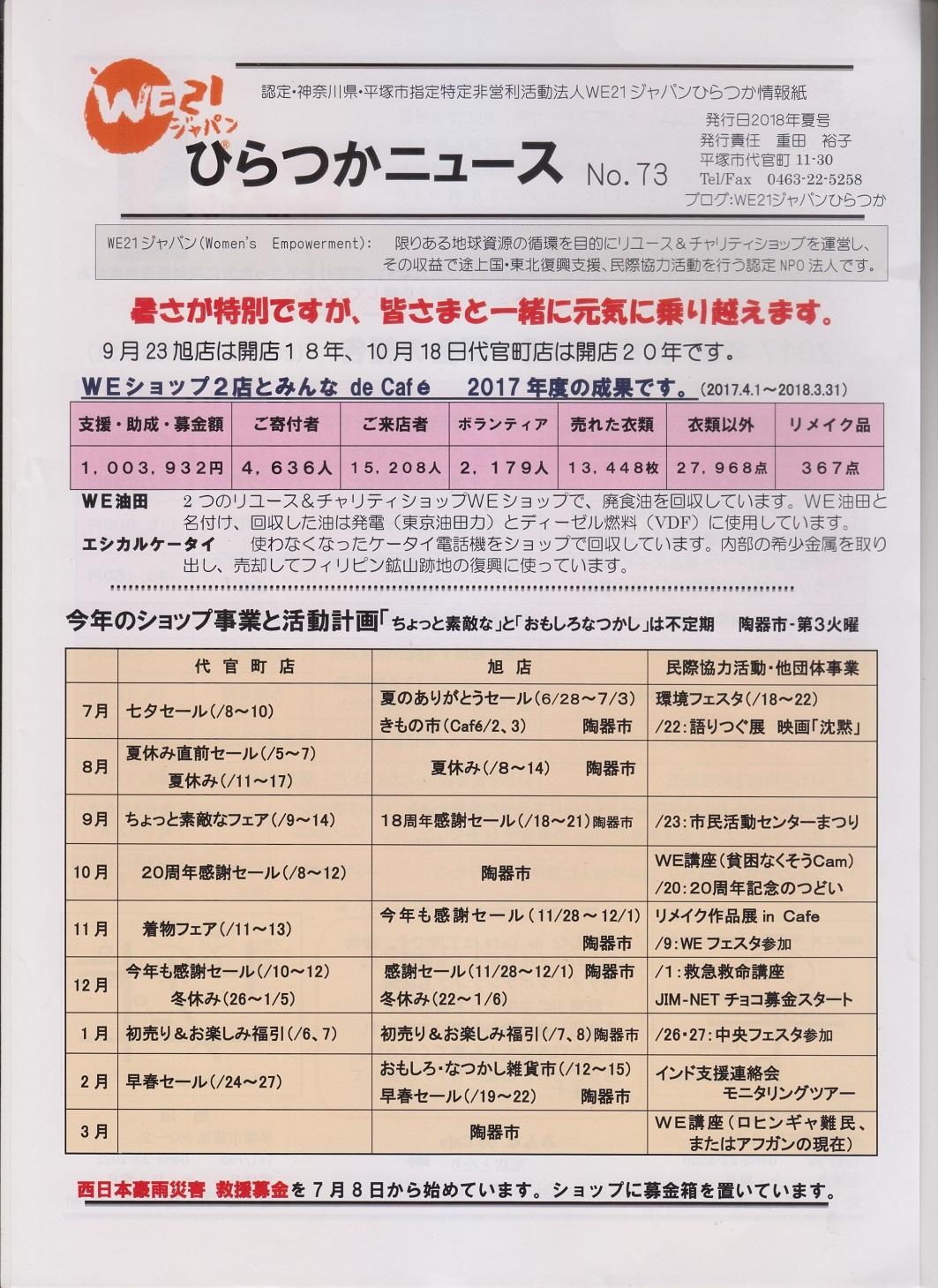 No.73ニュース
