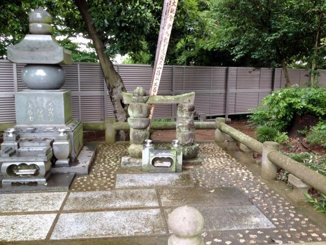 足利成氏のお墓。