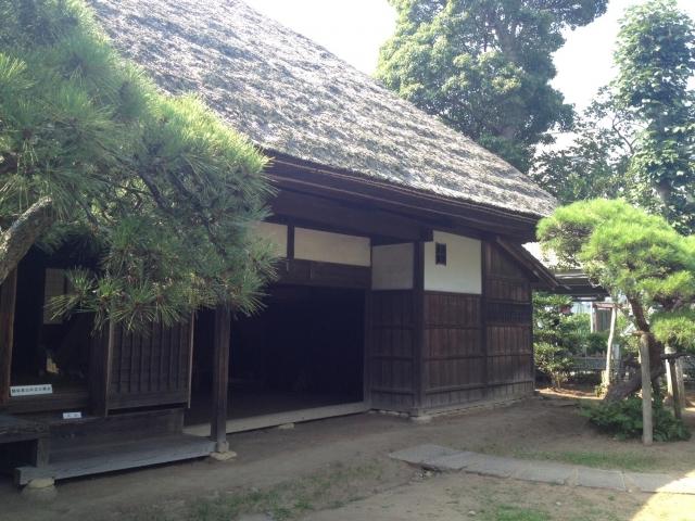 左千夫生家。