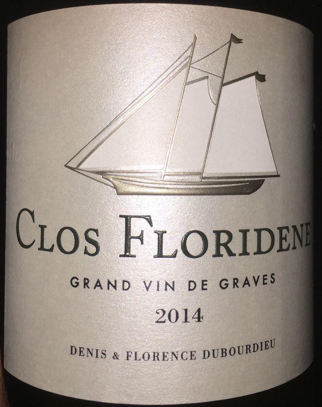 Clos Floridenis Blanc 2014