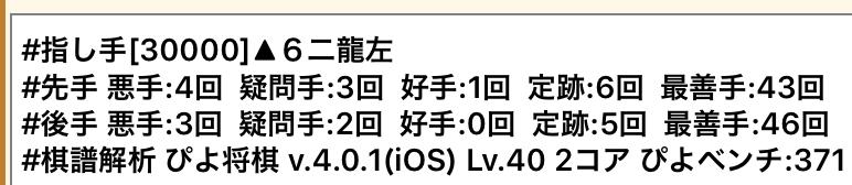 20181010-01ピヨ将棋棋譜解析結果
