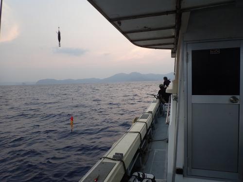 '18赤イカ釣り2回目