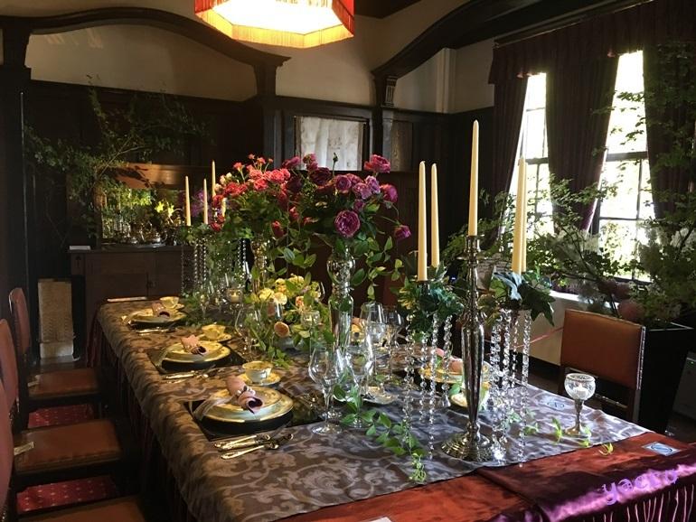 '18 花と器のハーモニー 外交官の家