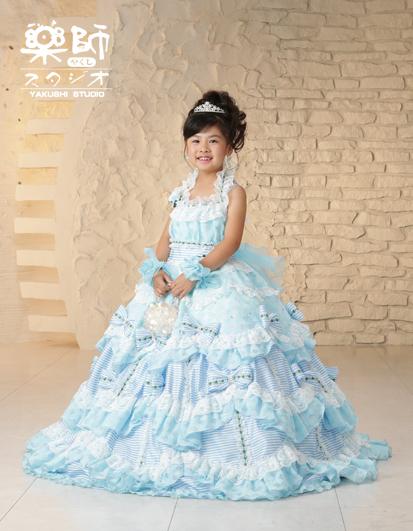 180630七五三 七歳 ドレス