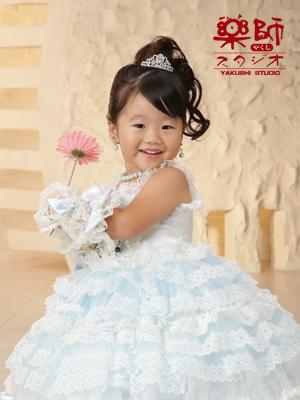 180729七五三 三歳 ドレス
