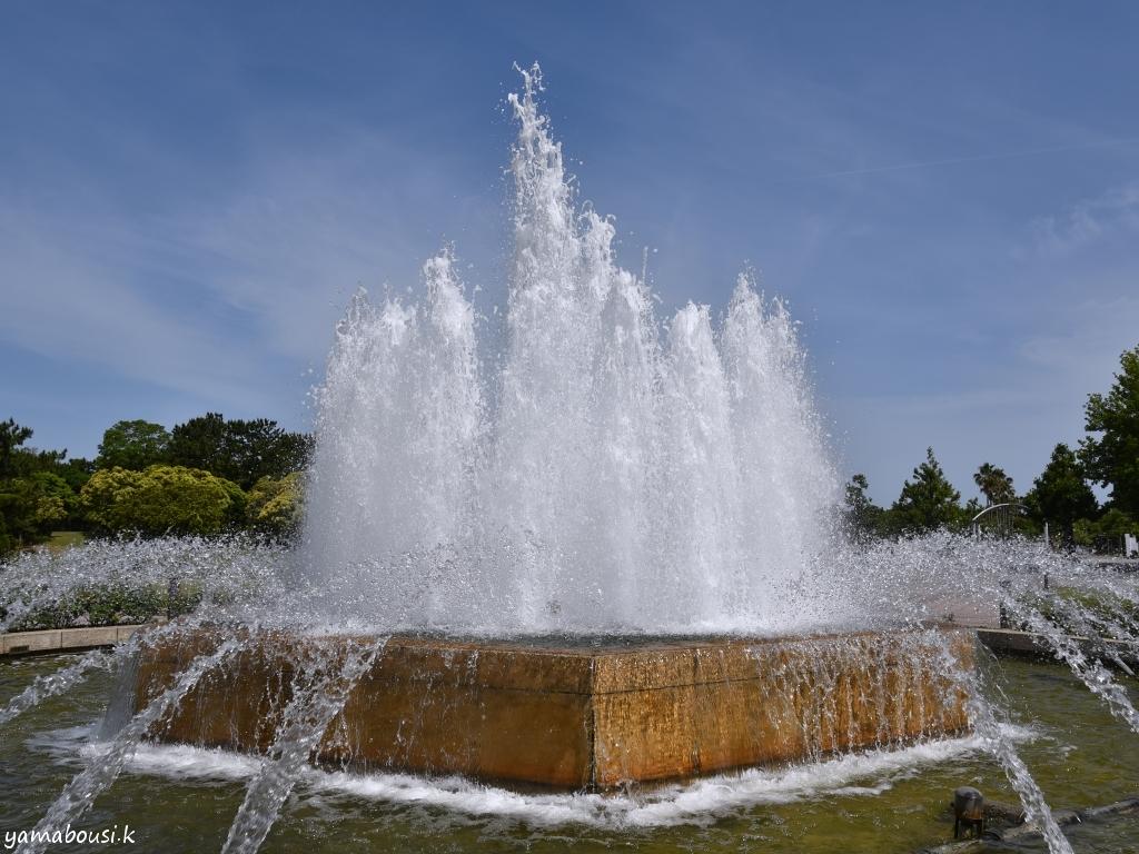 海の中道海浜公園 西口中央の噴水