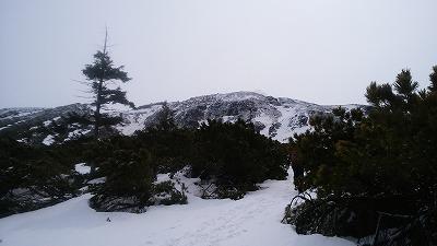 雌阿寒岳野中コース3