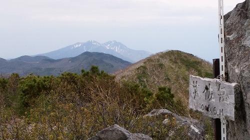 武佐岳から斜里岳