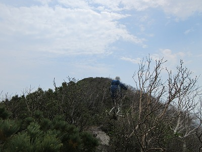 武佐岳山頂1