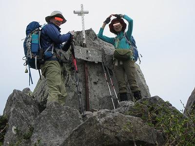 武佐岳山頂3
