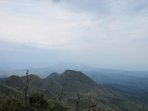 武佐岳より尖峰山