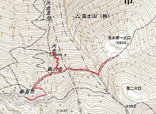 180506 富士山軌跡