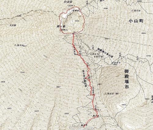 180625 富士山軌跡