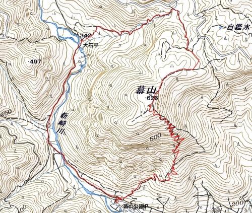 180709 幕山軌跡