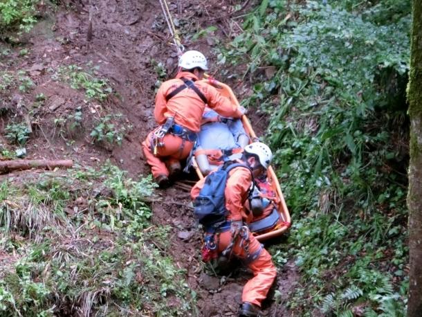 山岳救助隊