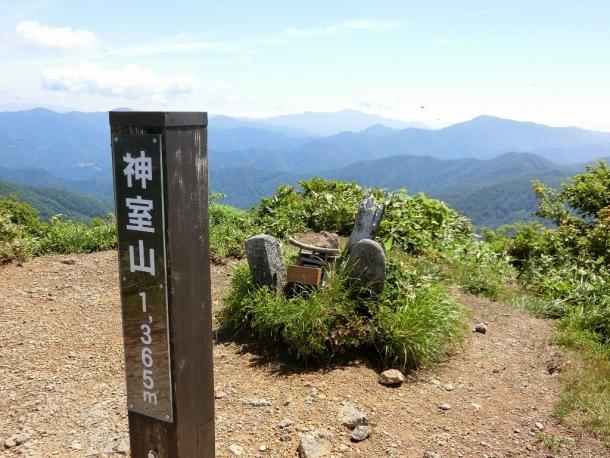 神室山頂 (2)