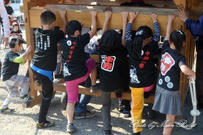 中野一番屋台(だんじり) 祭り装束
