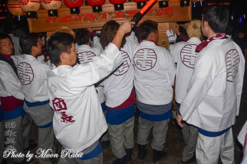 北之町上組屋台(だんじり) 祭り装束