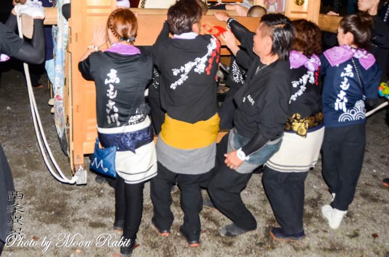 下小川屋台(だんじり) 祭り装束