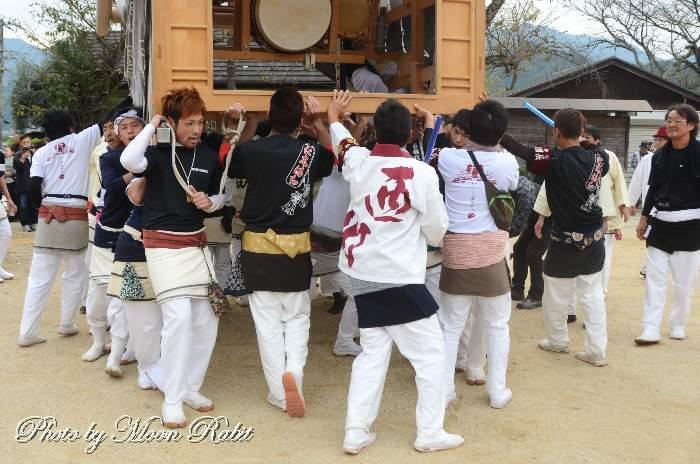 西町屋台(だんじり) 祭り装束