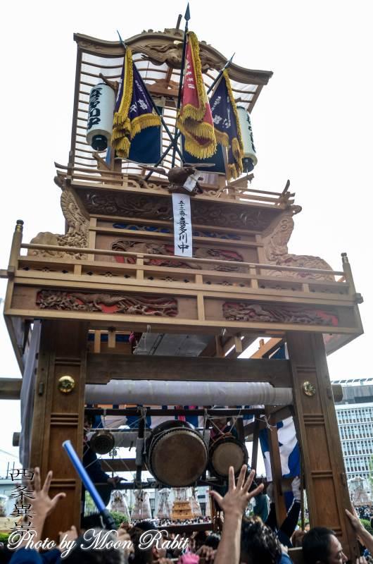 御殿前 喜多川中屋台(だんじり)