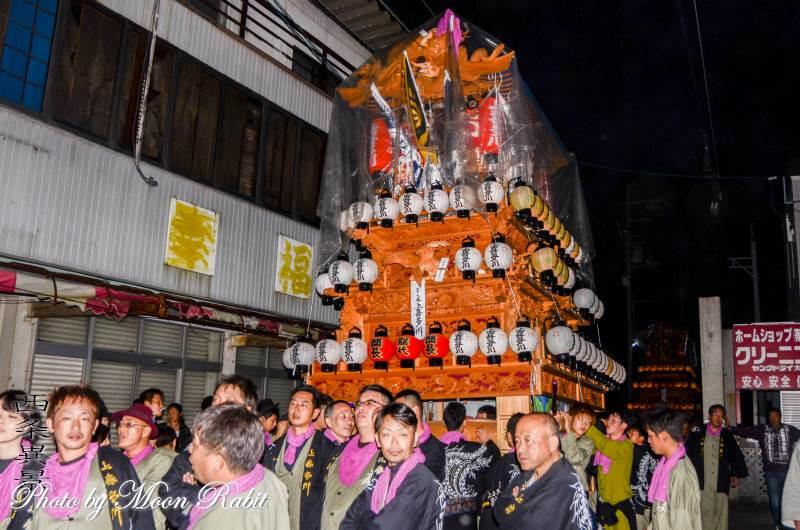 後夜祭 上喜多川だんじり(屋台)