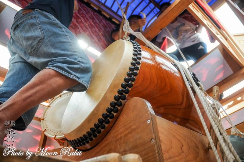 百軒巷屋台(だんじり) 祭り太鼓