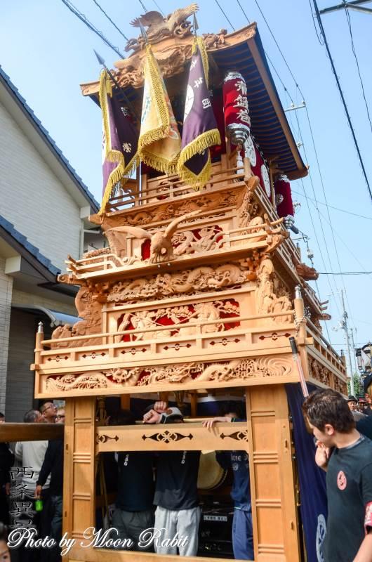 風伯祭 常盤巷だんじり(屋台)