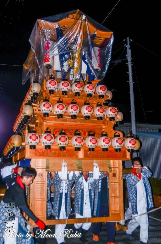 吉原三本松屋台(だんじり) 前夜祭