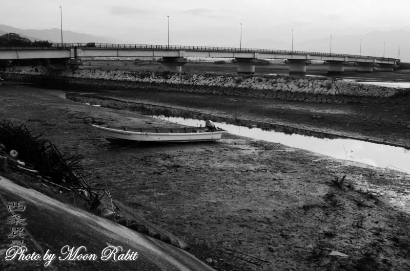 中山川の小舟