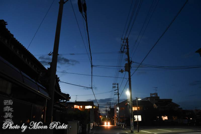 西条市三本松の通り 愛媛県西条市