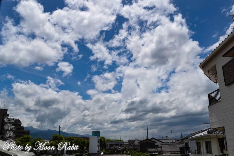 夏雲 愛媛県西条市神拝