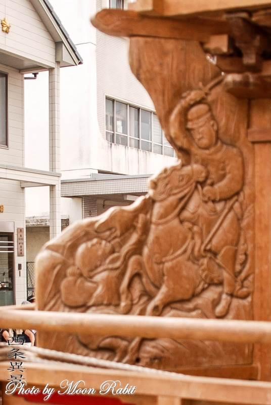 隅障子 先代喜多町だんじり(屋台)