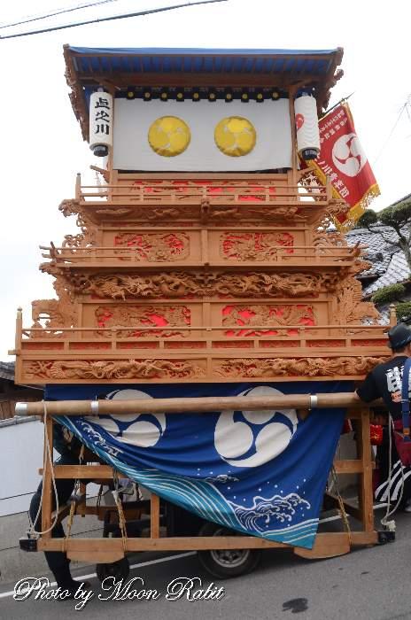 上之川だんじり 屋台