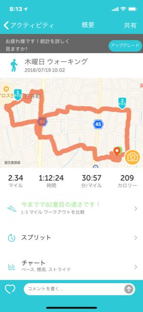 木曜日 散歩