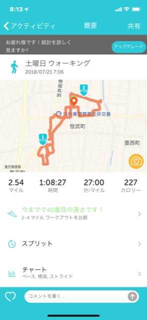 土曜日 散歩