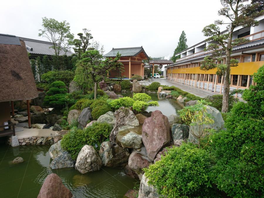 大分県☆別府の宿「山荘 神和苑・かんなわえん」で和の空間を楽しむ!