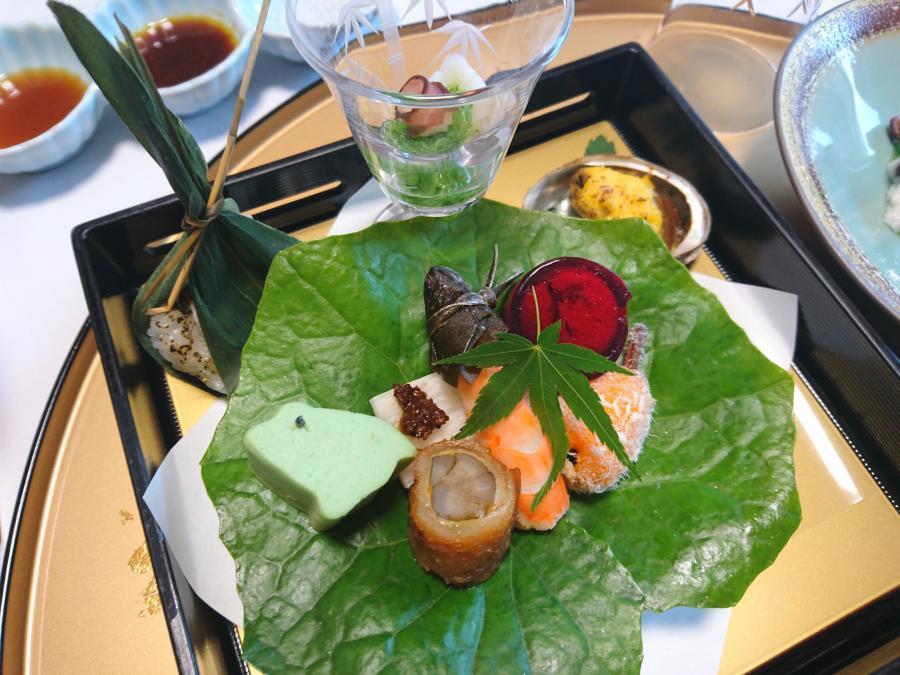 大分県☆湯布院の宿「山灯館」で季節感あふれるお食事を!